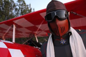 The immortal red baron air show