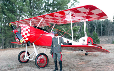 Bluebonnet AirShow: Immortal Red Baron Invades Burnet